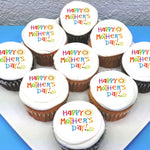 Mothers Day Edible Icing Cupcake Toppers
