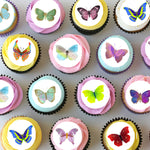 Butterfly Mini Edible Cupcake Toppers