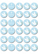 Confirmation Mini Edible Cupcake Toppers