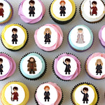 Harry Potter Inspired Mini Edible Cupcake Toppers