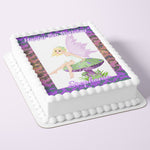 Fairy Rectangle A4 or A3 Edible Icing Cake Topper