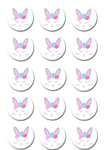 Bunny Ears Edible Cupcake Toppers
