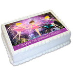 Fairies Rectangle Edible Cake Topper