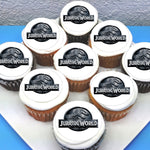 Jurassic World Edible Cupcake Toppers