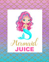 Mermaid Pop Top Labels