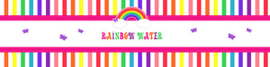 Rainbow Themed Water Bottle Labels - Set of 5
