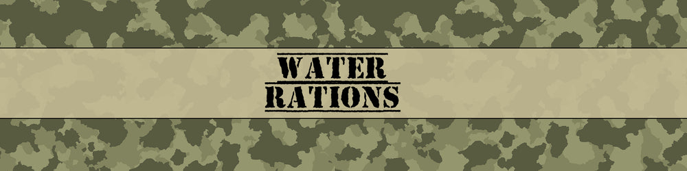 Army Camouflage Water Bottle Labels - Set of 5