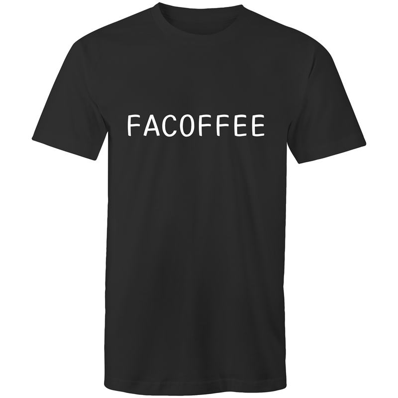 Facoffee Mens T-Shirt