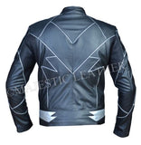 Teddy Sears Hunter Zolomon Blitz Zoom Lederjacke - Neu mit Etikett