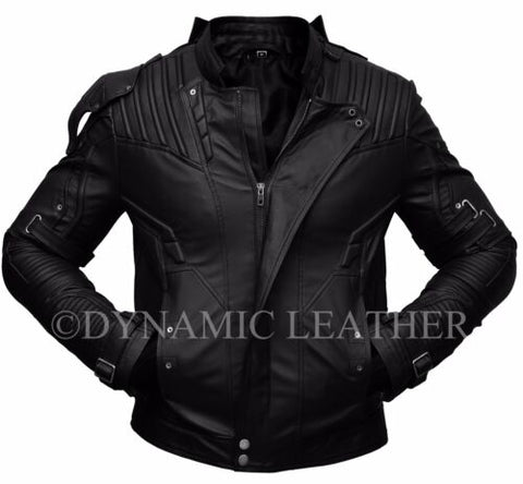Guardians of the Galaxy 2 Star Lord Chris Pratt Real/Faux Leather Jacket