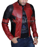 Deadpool Wade Wilson Ryan Reynolds Giacca di pelle Cosplay Costume