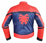 NEW SPIDERMAN HOMECOMING COSTUME FAUX LEATHER JACKET-BNWT