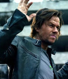 Transformers The Last Knight Mark Wahlberg REAL Leather Jacket