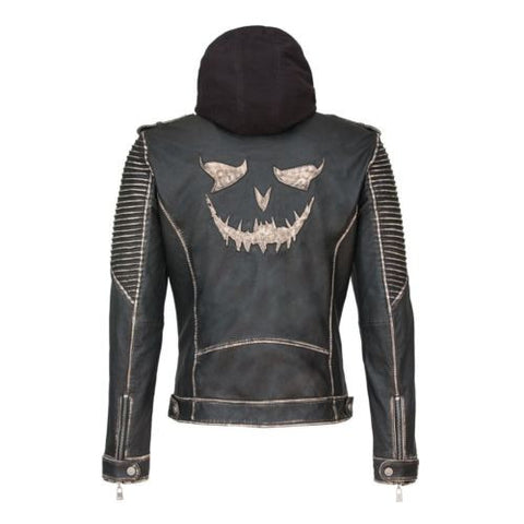 Suicide Squad New 'The Killing Jacket' Joker Leather Jacket (All Sizes)