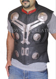 Men's Elite Vintage Biker Motorcycle Distressed Goldie Black Leather Jacket