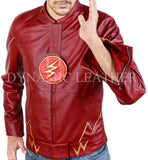 The Flash Series,Decrum Grant Gustin,Barry Allen Leather Jacket-Halloween Jacket