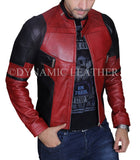 Deadpool Wade Wilson Ryan Reynolds Leather Jacket Cosplay Costume