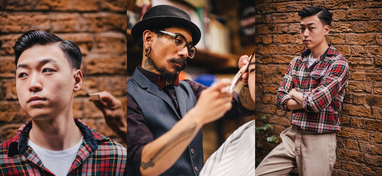 Oil Can Blue Collar Original Pomade Style Shots X3