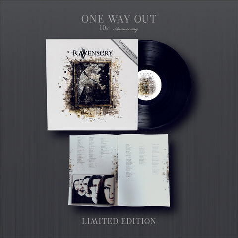 "One Way Out ""10th Anniversary"" Vinyl - LIMITED EDITION (PRE-ORDER) - ONLY 50 COPIES (BLACK VINYL 180g)"