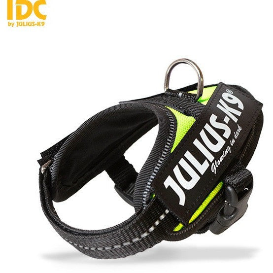 JULIUS K9 IDC Powerharness Neon-green