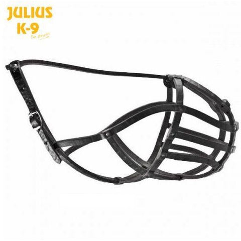 JULIUS K9 Leather Basket Muzzle
