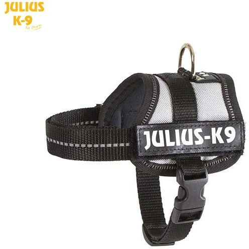 JULIUS K9 Original Powerharness Silver Grey DISCONTINUED
