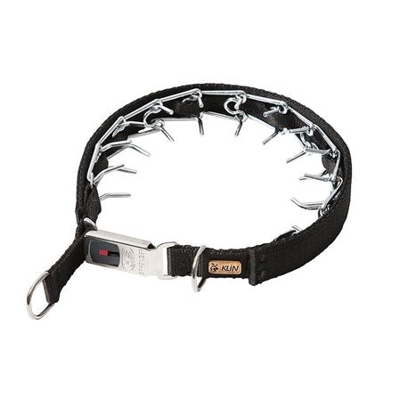 Sprenger/Klin Prong Collar with Nylon Cover and safety buckle