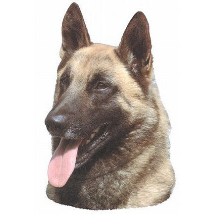 Decal Malinois Head