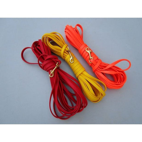 Biothane Tracking Leash, 32 1/2 ft. (10m) Various Colors