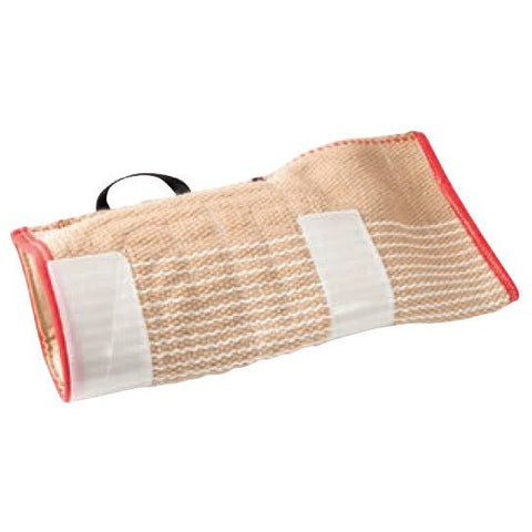 KLIN Target Cover for Protection Sleeve with Bite Helpers, Jute