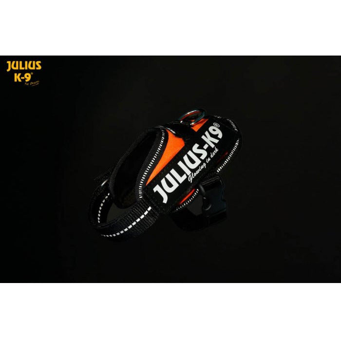 JULIUS K9 IDC Powerharness UV-Orange Fluorescent SAR