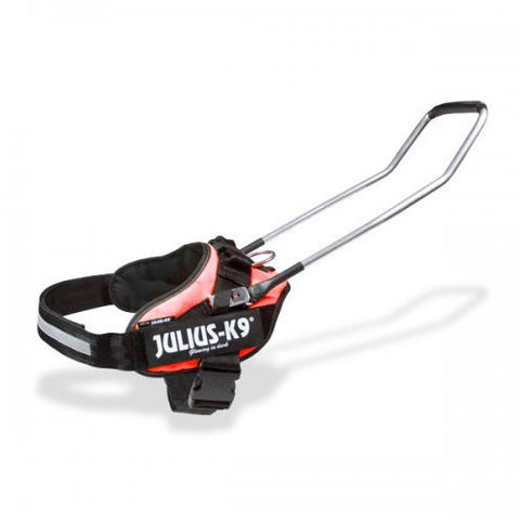 JULIUS K9 IDC Seeing Eye or Guide Dog Harness Red