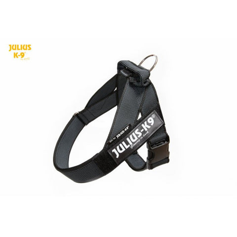 JULIUS K9 IDC Belt Harness Black - NEW GENERATION