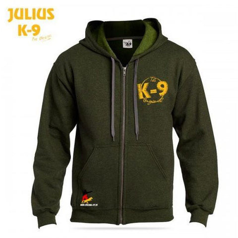 JULIUS K9 K-9 Hoodie Sweater Meadow Green