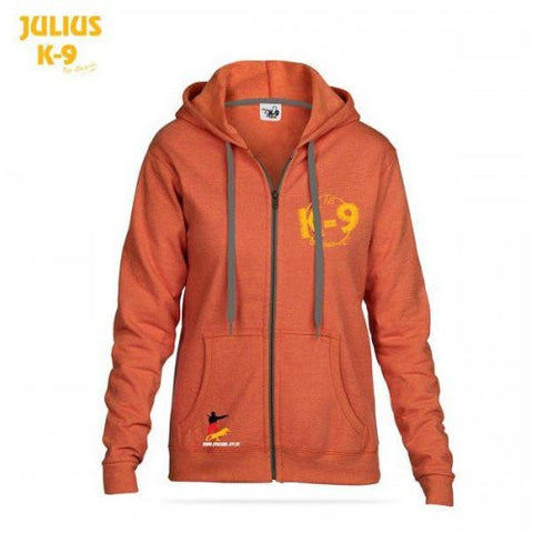 JULIUS K9 K-9 Hoodie Sweater Sunset Orange