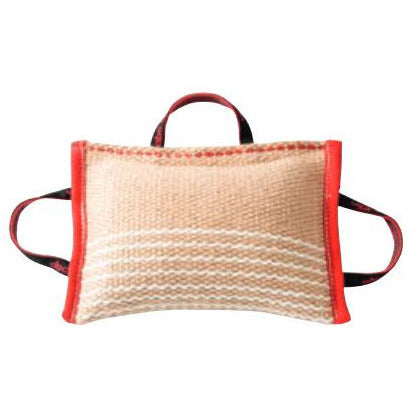KLIN Bite Pillow with 3 handles, Jute, Soft