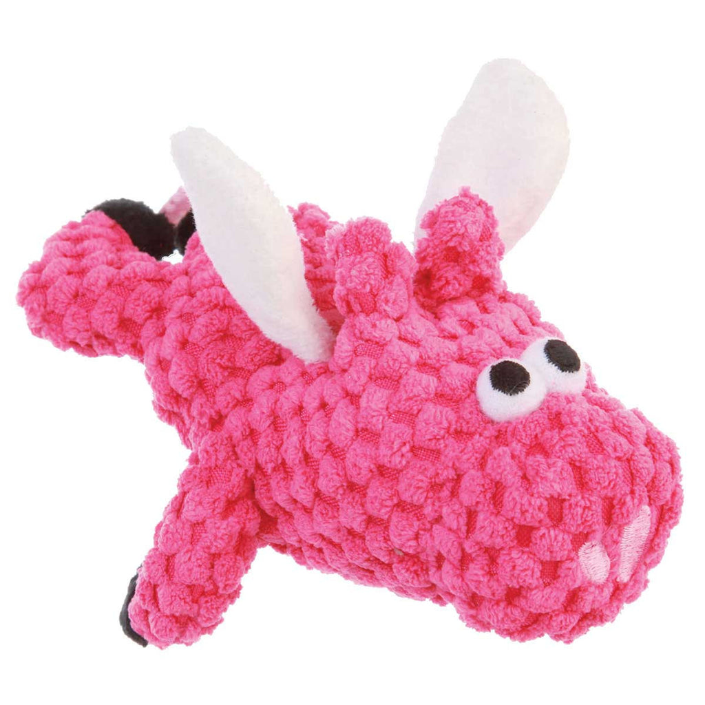 Godog Checkers Flying Pig - Pink
