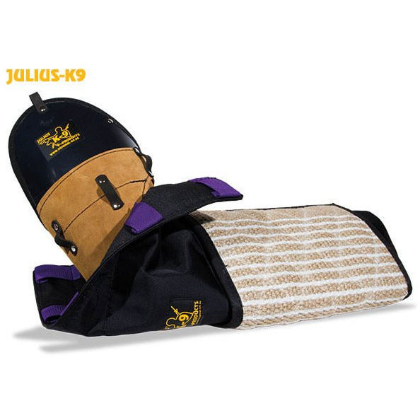 Julius K9 Protection Sleeve for young dogs in a set