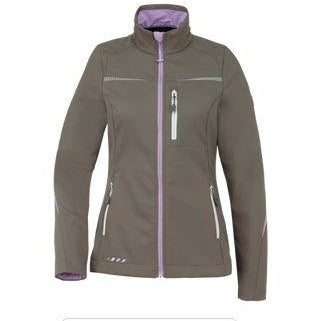 Soft Shell Jacket for Dog Handlers Stone/Lavender (Women)