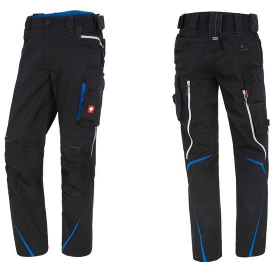 Work Pants for Dog Handlers (Men) Charcoal/Aquablue
