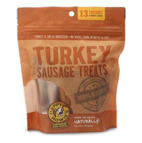 Turkey Sausage Treats, 13 Sausages, 10 oz