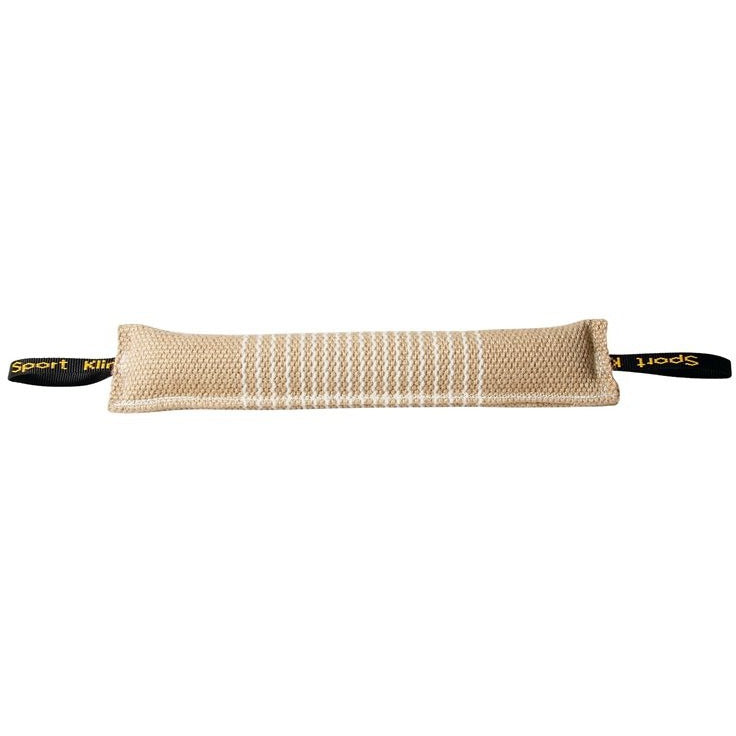 KLIN Long Puppy Tug with 2 Handles, padded Jute