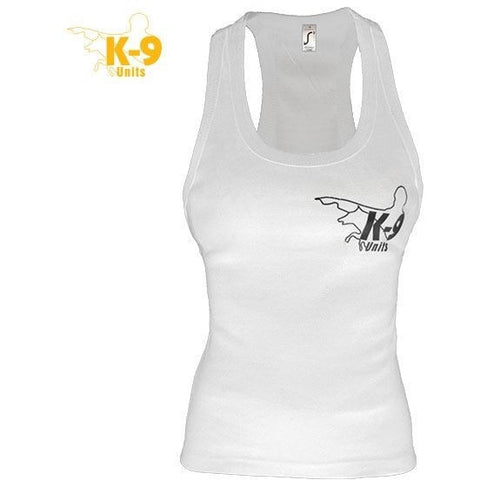 JULIUS K9 K-9 UNITS Sleeveless Shirt for Women white