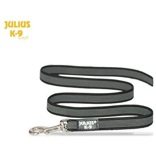 JULIUS K9 Anti-Slip Gripper Leash black 1.4cm without handle