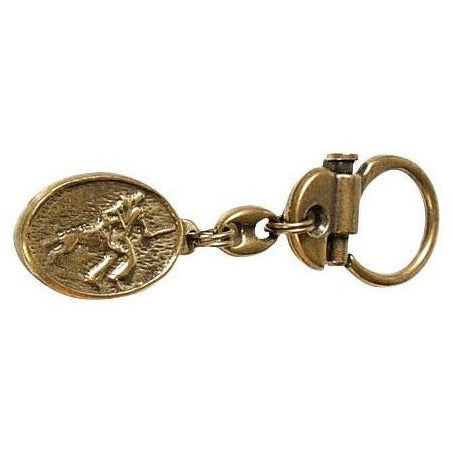 Key Chain German Shepherd Dog with Helper