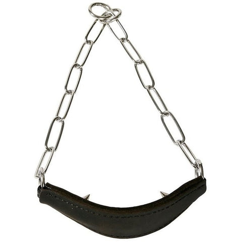 Sprenger Training Show Collar Leather with Prongs 3mm