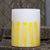 Lantern with Yellow Stripes
