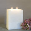 Ivory Two wick candle by Nordic Candle