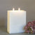 Ivory Pillar Candle Two Wick