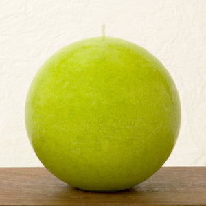 Chartreuse Ball Candle 4